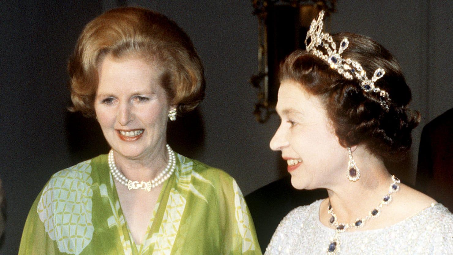 Margaret Thatcher And Queen Elizabeth S Complicated
