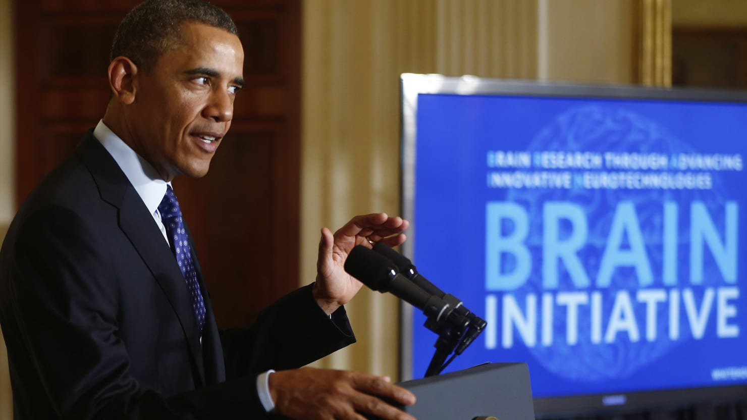 Obama Launches BRAIN Initiative to Map the Human Brain