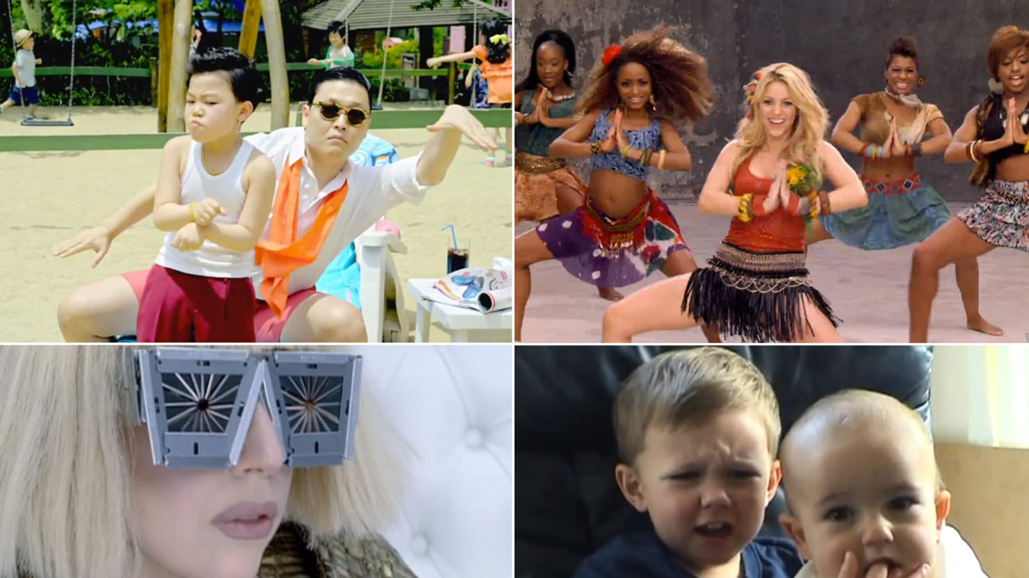YouTube's 10 Most-Viewed Viral Videos of AllTime