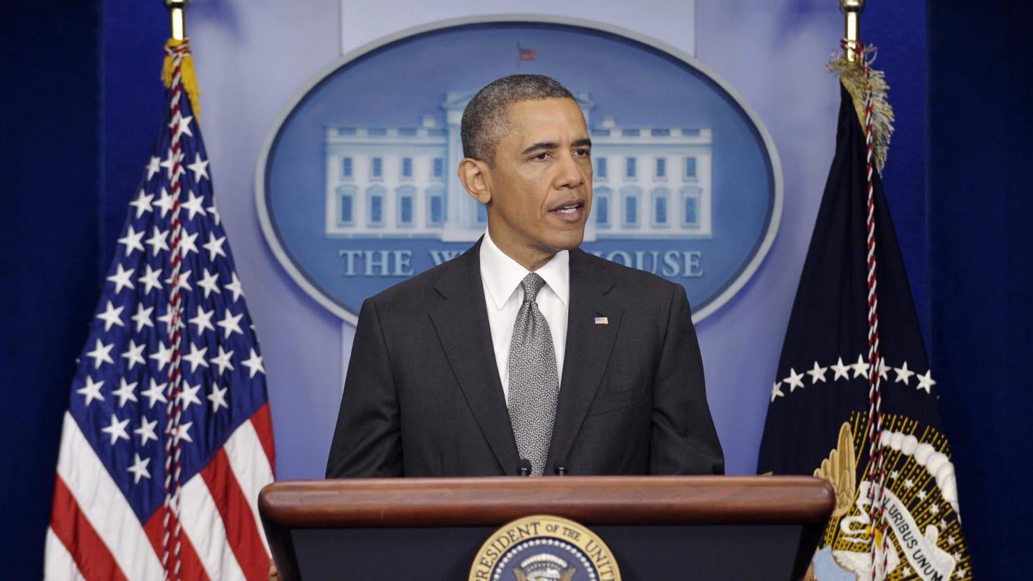President Obama Seizes The Spotlight After The Boston