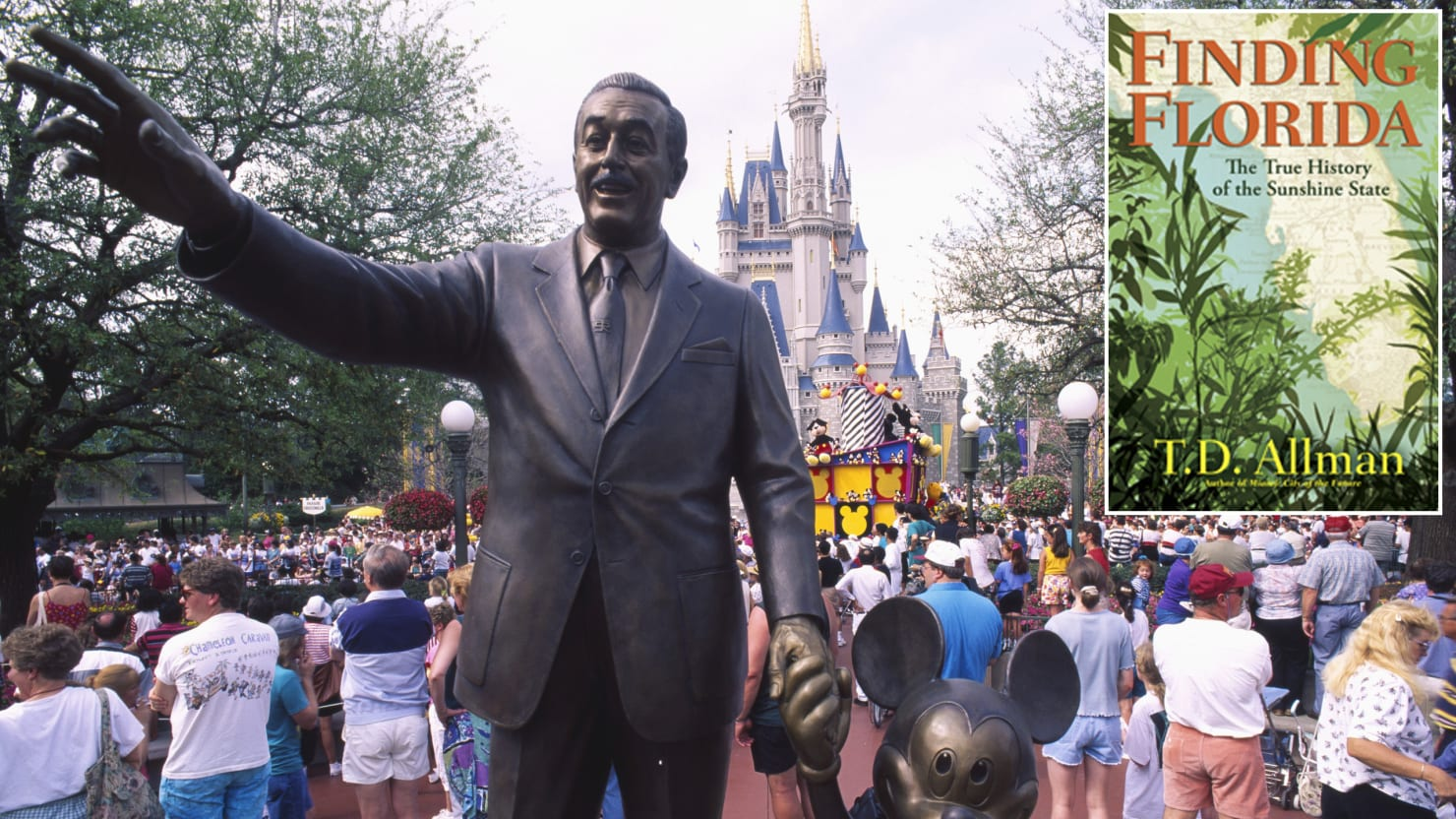 How the CIA Helped Disney Conquer Florida