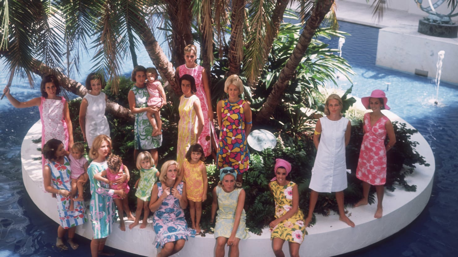 Lilly Pulitzer's Most Iconic Photos