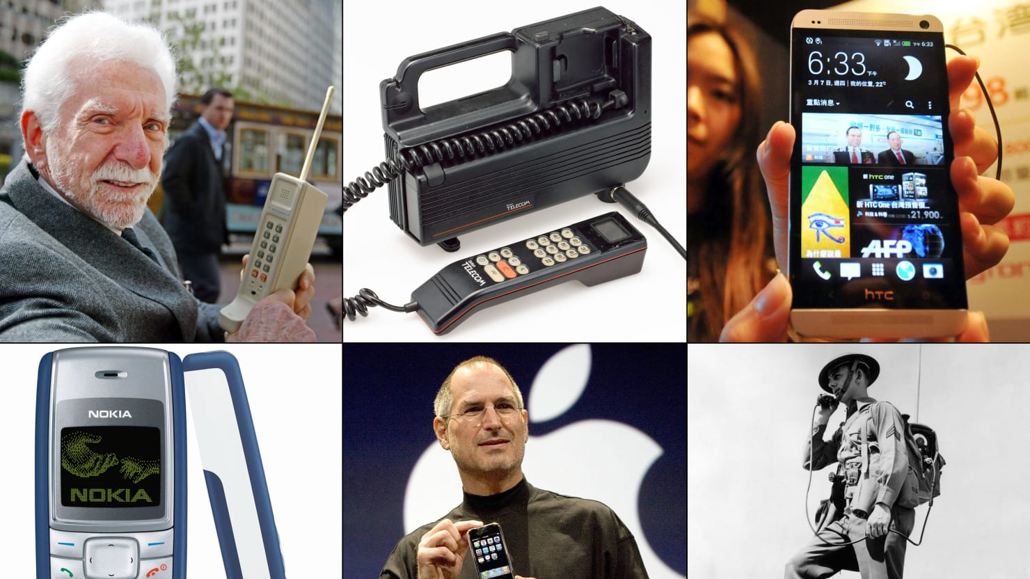 Cellphones Through History: Motorola DynaTAC, iPhone & More (PHOTOS)