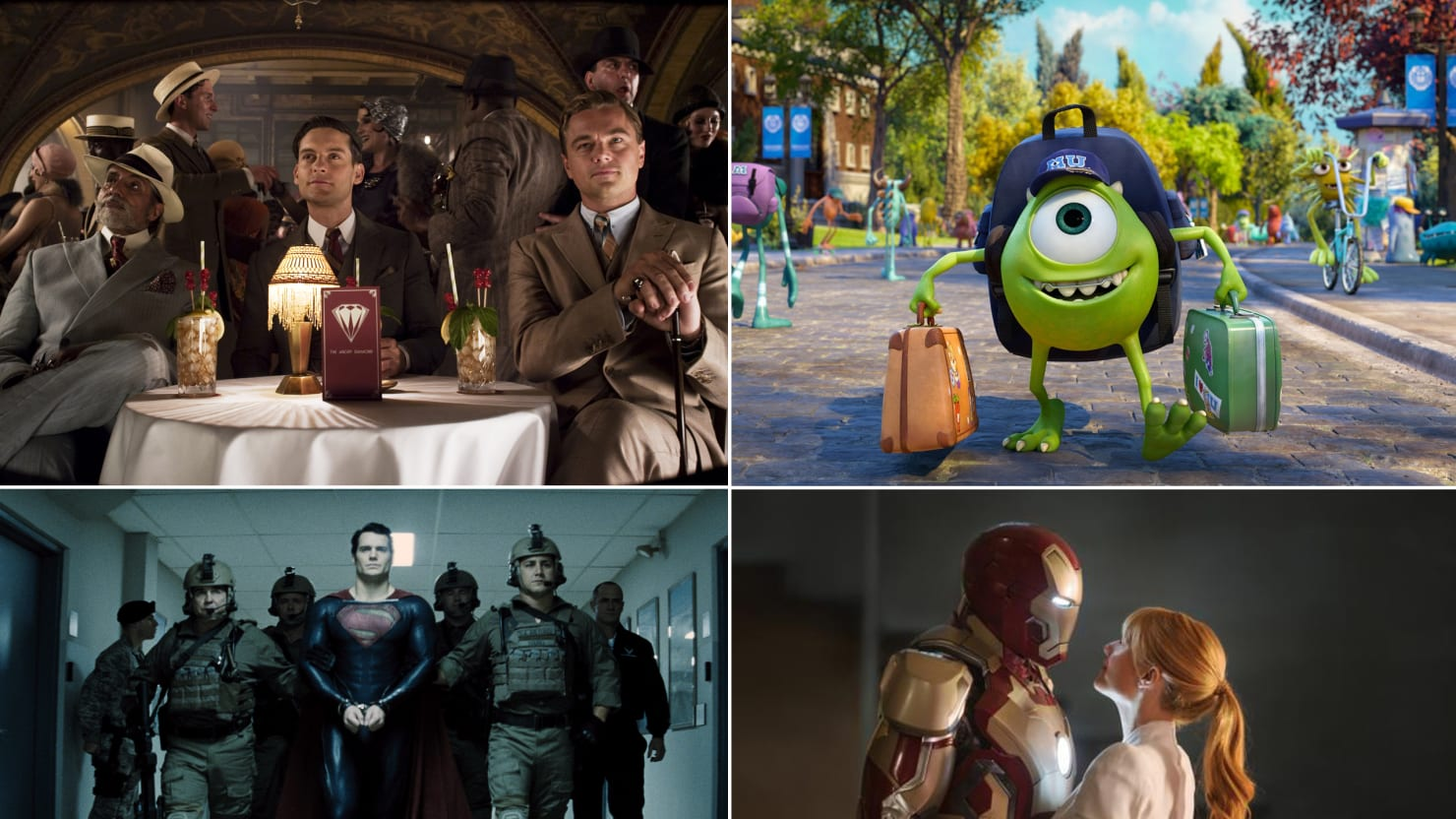 Summer Movie Preview: Iron Man 3, The Great Gatsby, Man Of Steel, and More