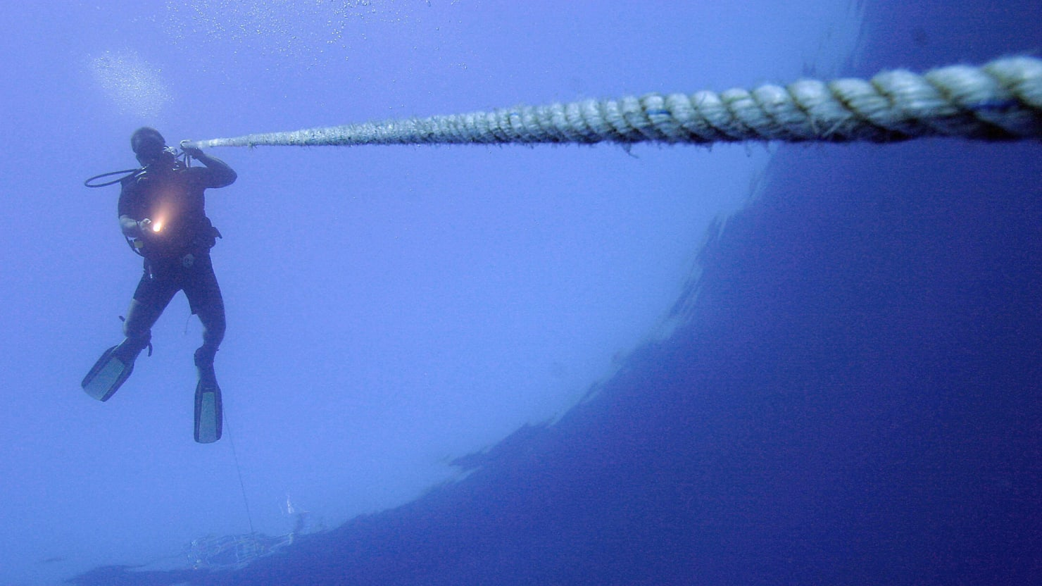 What Were Egypt's Divers Up To With Underwater Cables?
