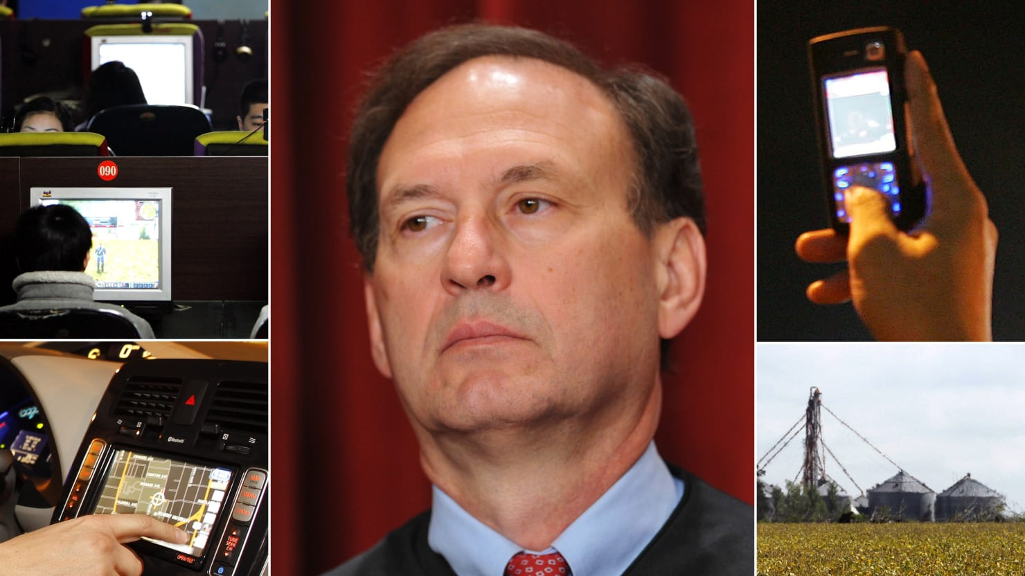 The Cases Justice Alito Apparently Forgot About