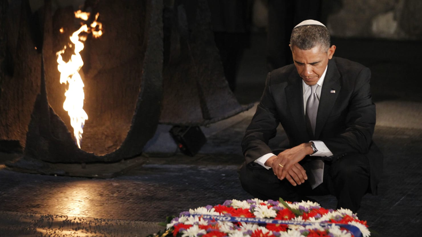 President Obama Visits Israel's Holocaust Memorial Before Heading To Jordan On Final Day In Middle East
