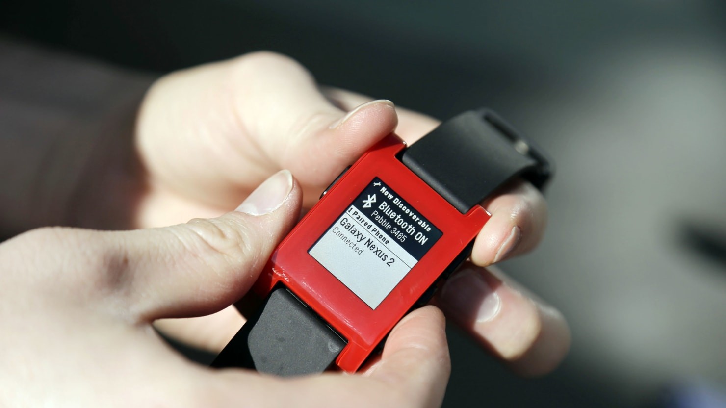 The Smartwatch Revolution Or How Pebble Changed My Life Time Red Marcio Jose Sanchez Ap