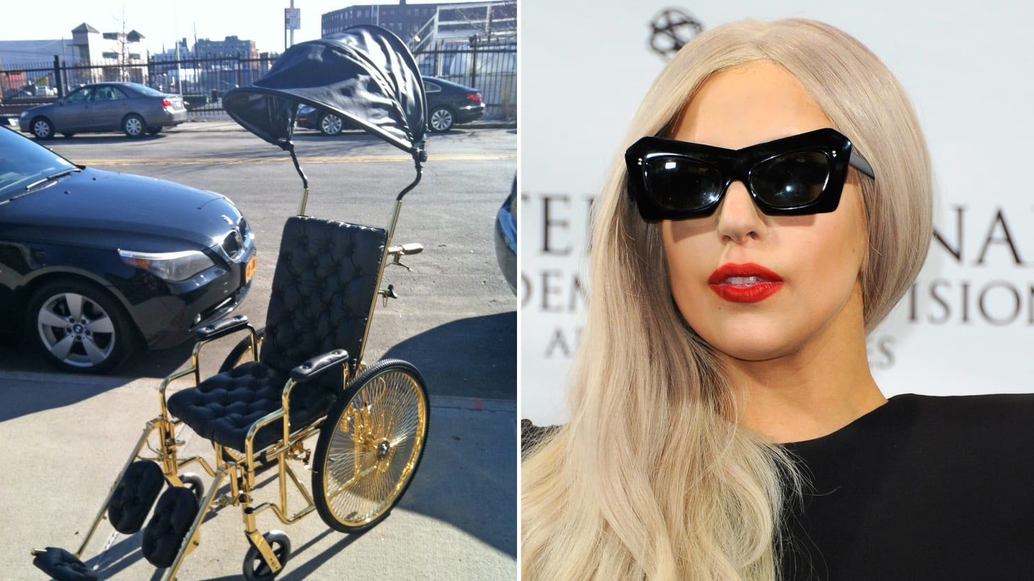 Introducing Lady Gaga S 24 Karat Wheelchair