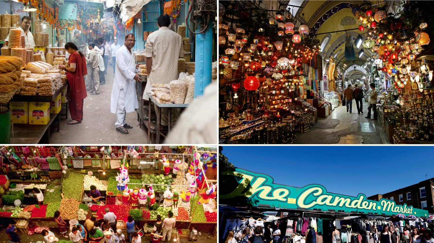 World's Top Markets: Istanbul's Grand Bazaar, Chatuchak & More (Photos)