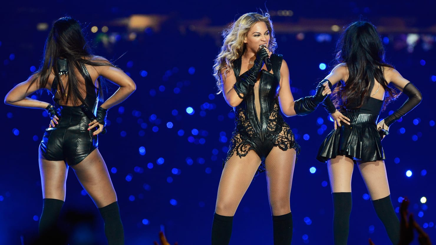 Beyonce Superbowl Performance Stage