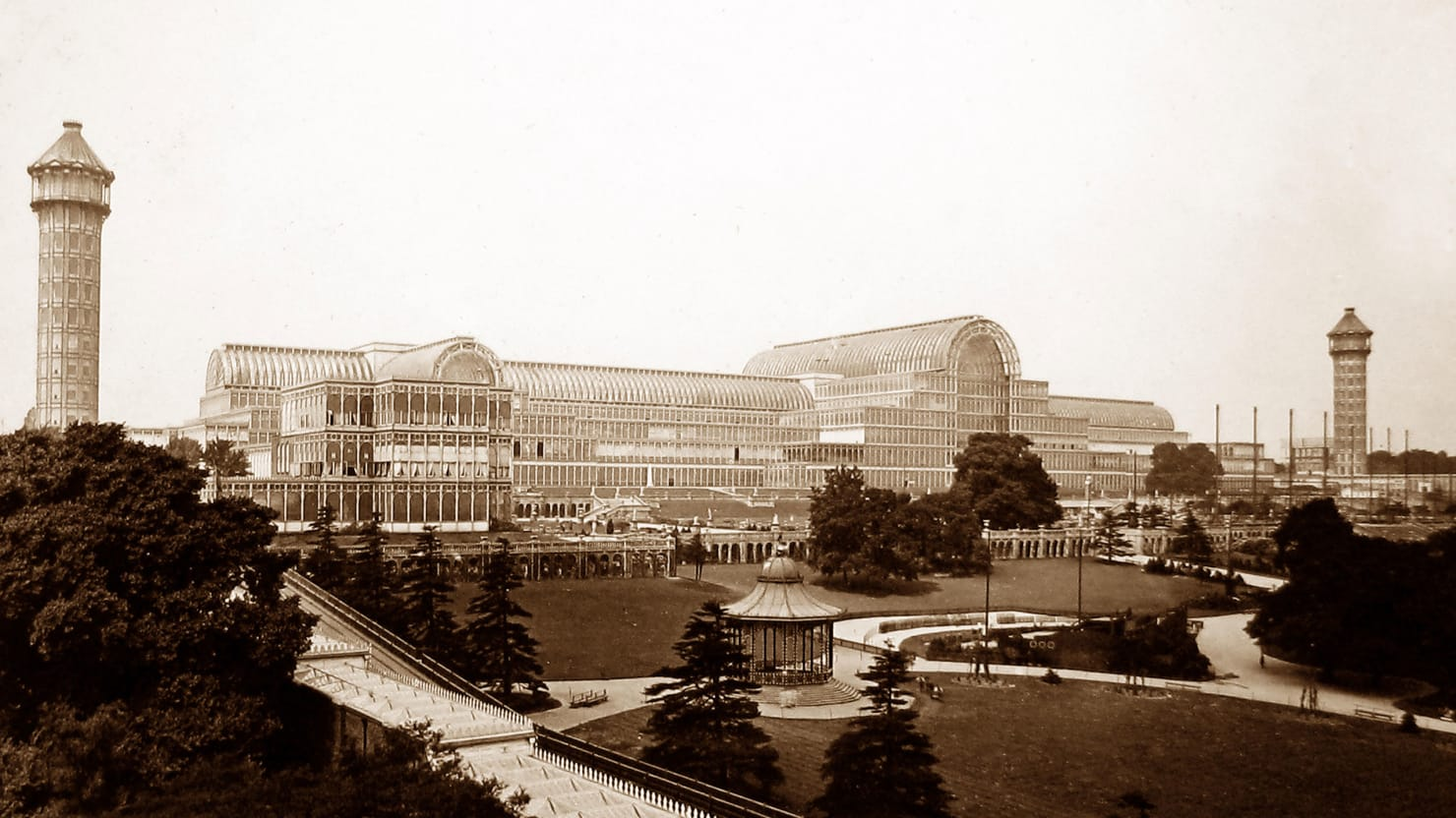 South End Auto >> The Glorious Birth and Blazing End of London's Crystal Palace