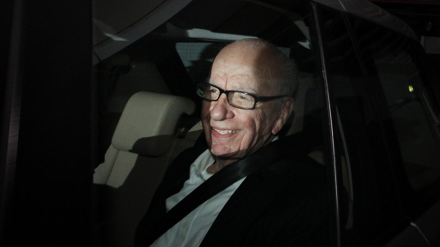 Rupert Murdoch Rides Roughshod Over Historic Times Of London Agreement