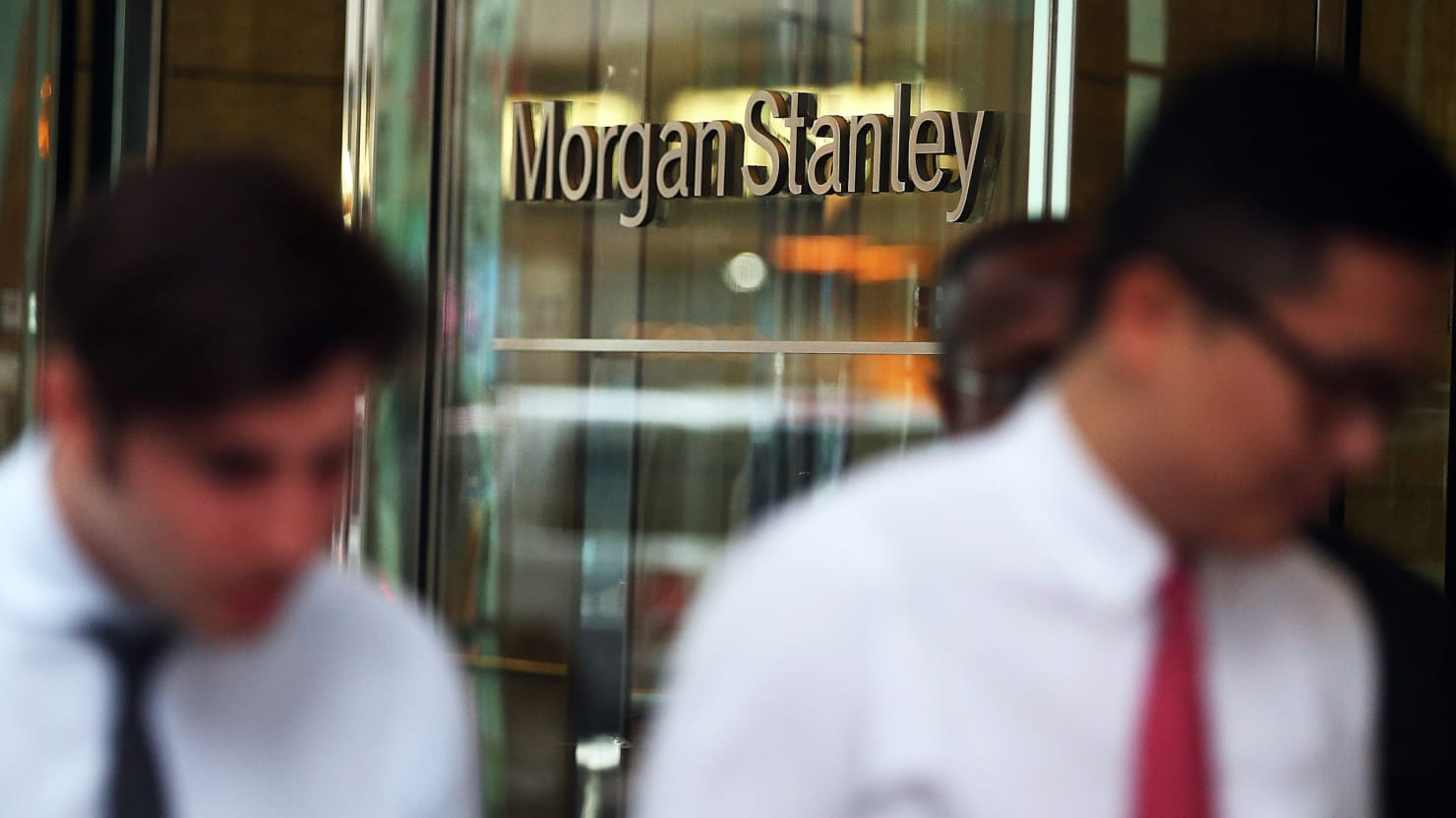Morgan Stanley retreats from investment banking and trading