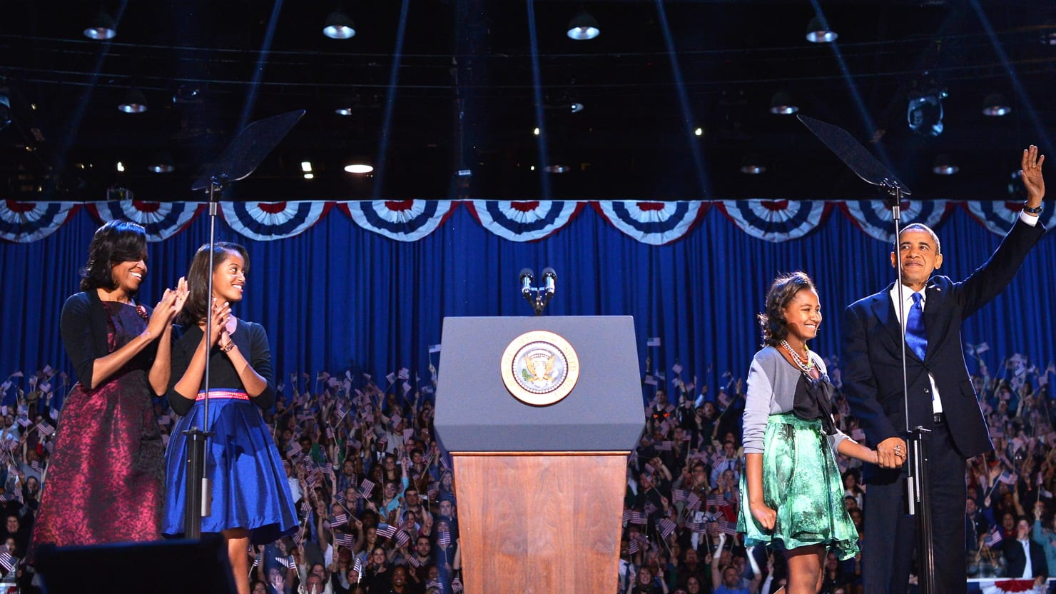 Michelle Obama's Signs of Fashion Restraint on Election Night