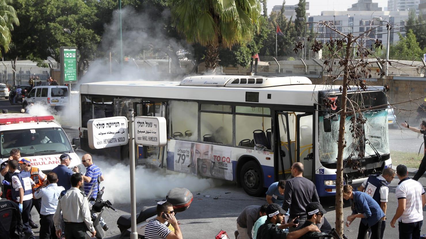 Rise V Auto >> Bus Bombing Shakes Tel Aviv