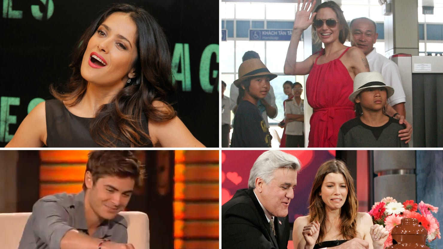 7 Celebrity Bug Eaters From Salma Hayek to Zac Efron (Photos)