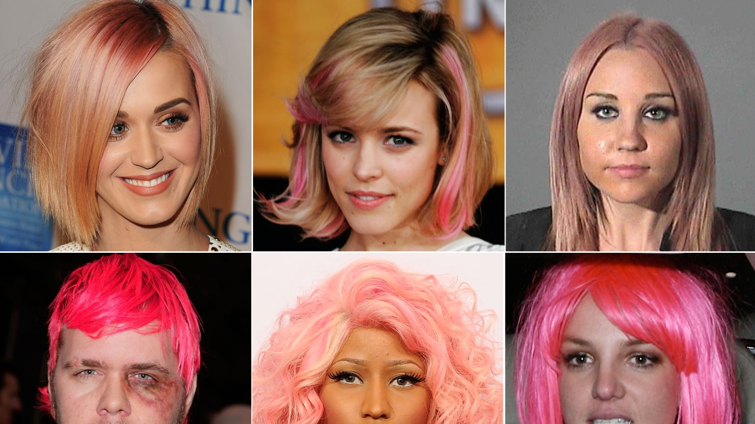 The Curse Of Pink Hair