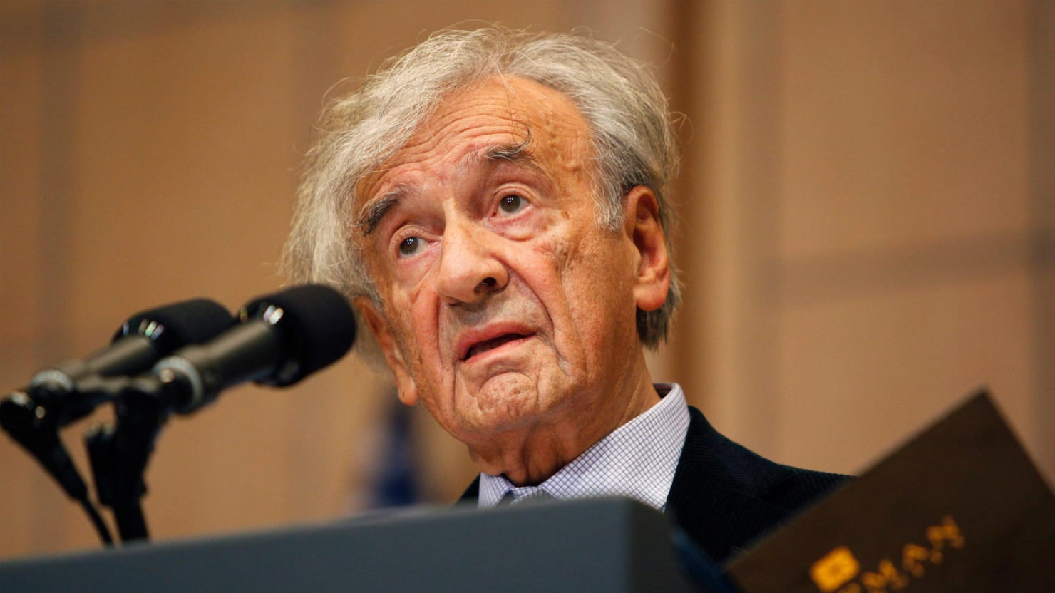 Elie Wiesel on His Fear of Being the Last Holocaust Witness
