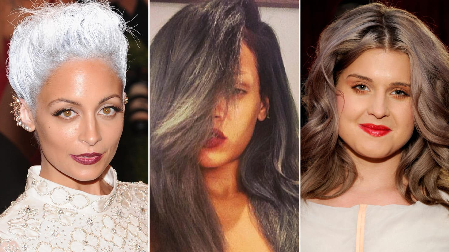 Rihanna Nicole Richie Other Young Celebrities Who Go Gray Photos