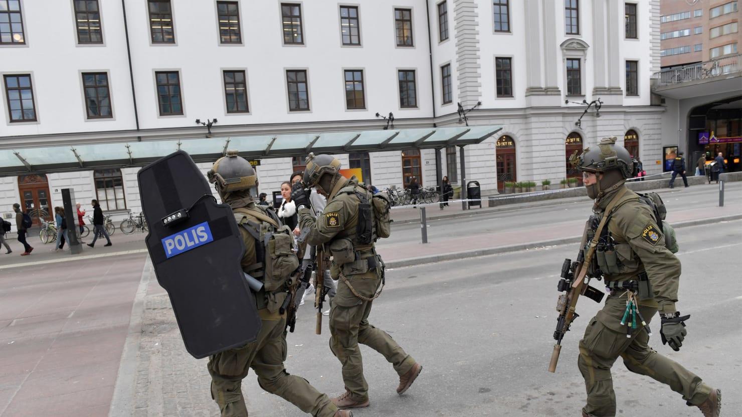 Terrorist Photo: Sweden Labels Assault A 'Terrorist Attack'