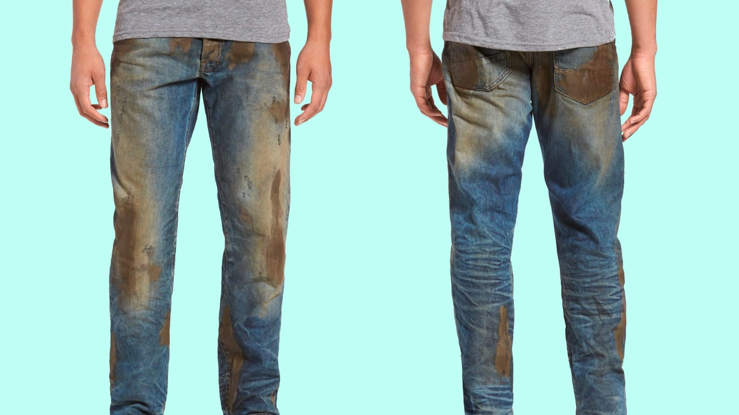 $425 Muddy Jeans Vs. DIY - YouTube