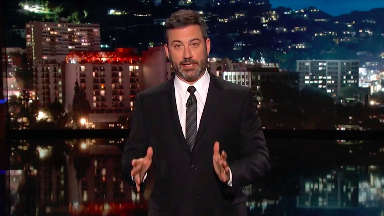 Jimmy Kimmel Makes Confession About Working With Chuck SChumer
