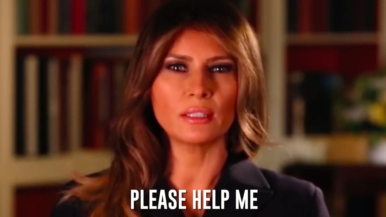 Bad Lip Reading\' Reveals Melania Trump\'s Secret Christmas Message