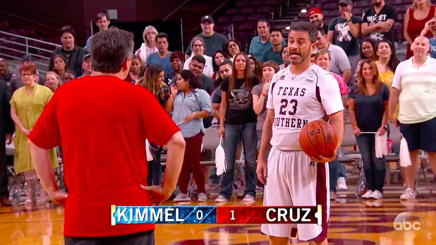 Jimmy Kimmel Taunts Ted Cruz Over Detained Immigrant Kids During Basketball Loss