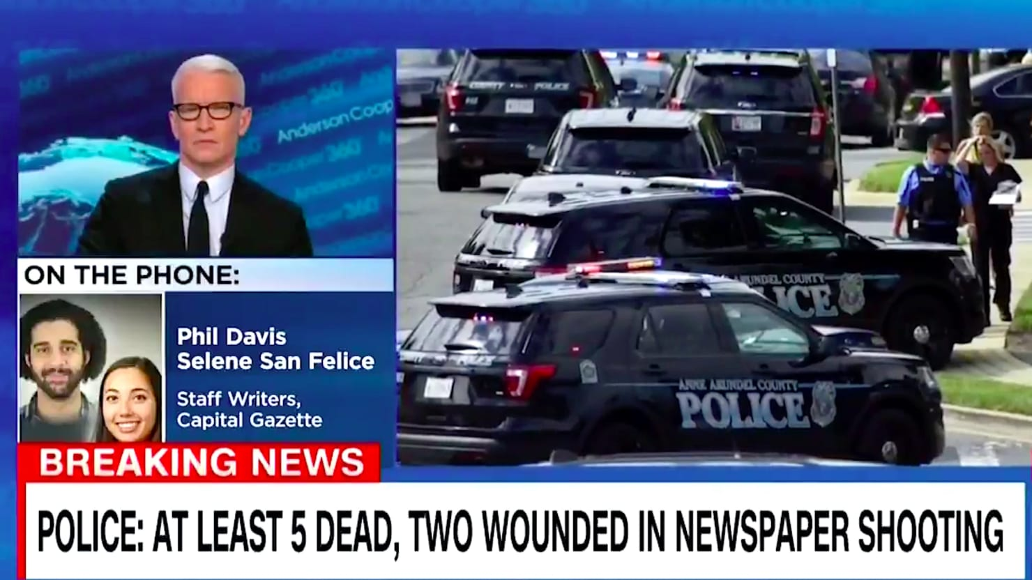 Capital Gazette Survivor: I Don't 'Give a F*ck' About Your Thoughts and Prayers