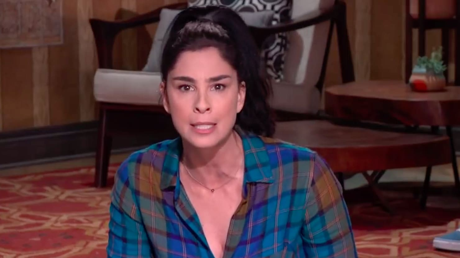 Sarah Silverman Slams GOP for Telling Taylor Swift to 'Stay in Her Lane'