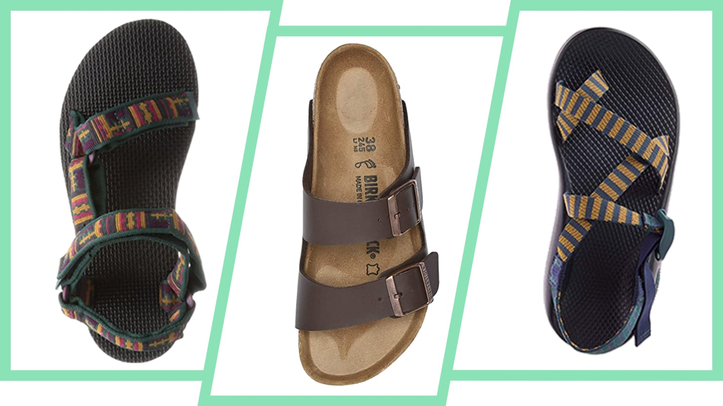 What's The Difference Between Birks, Tevas, and Chacos?