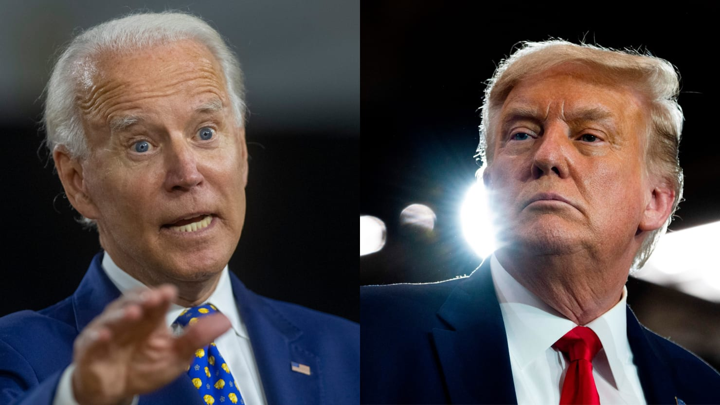 Trump Makes Same Gaffe as Biden in Least Self-Aware Attack
