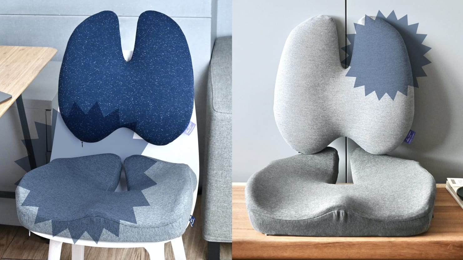 These Cushions Nixed My Back Pain, Even Sitting On a Kitchen Chair