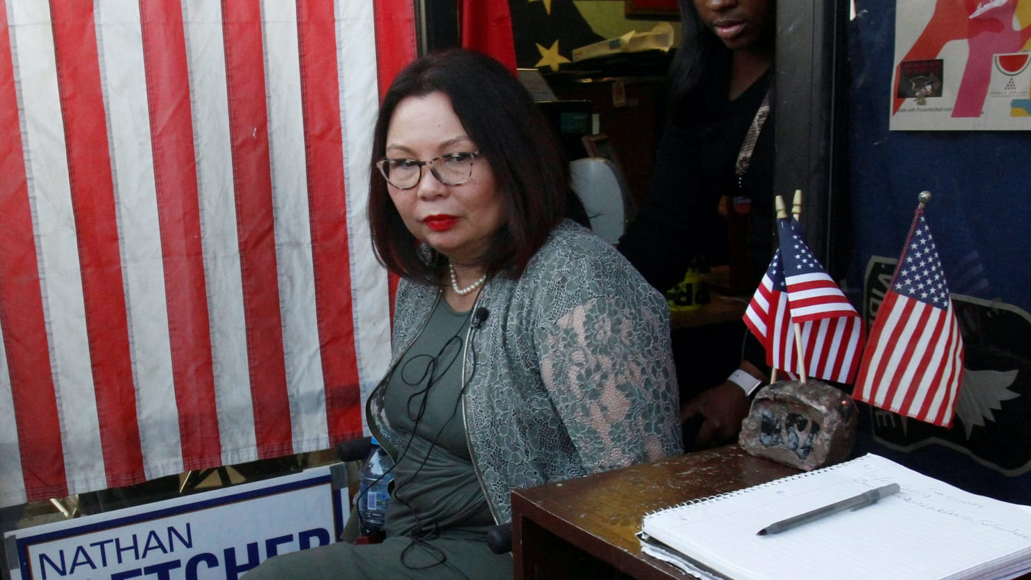 Tammy Duckworth Rips Tucker Carlson for Questioning Her Patriotism