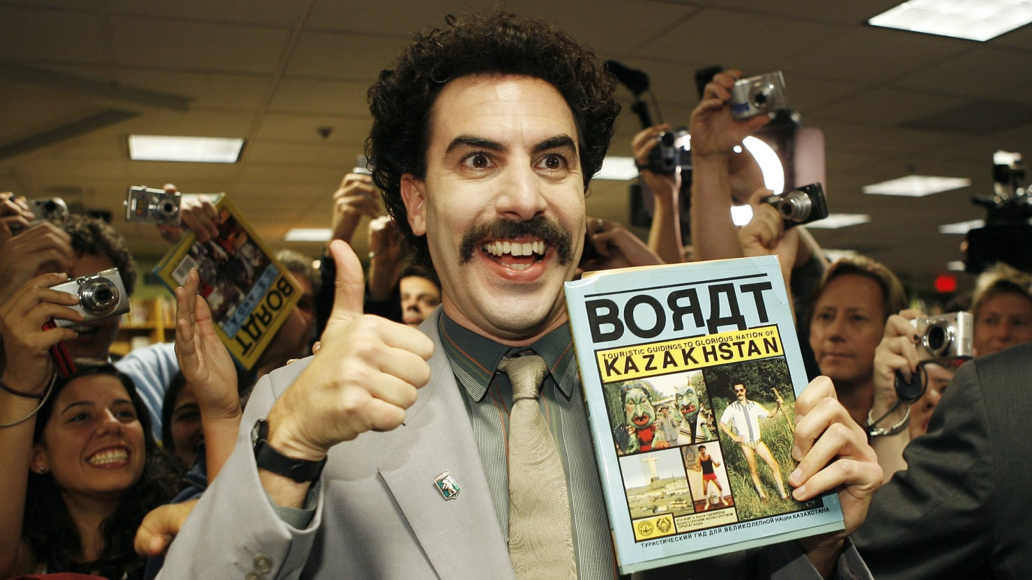 Sacha Baron Cohen Secretly Filmed a 'Borat' Sequel