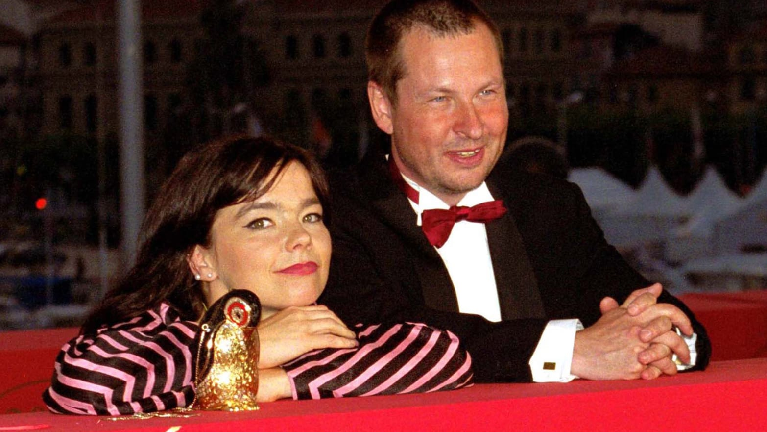 Bjork & Lars von Trier (Photo by Tony Barson Archive/WireImage)