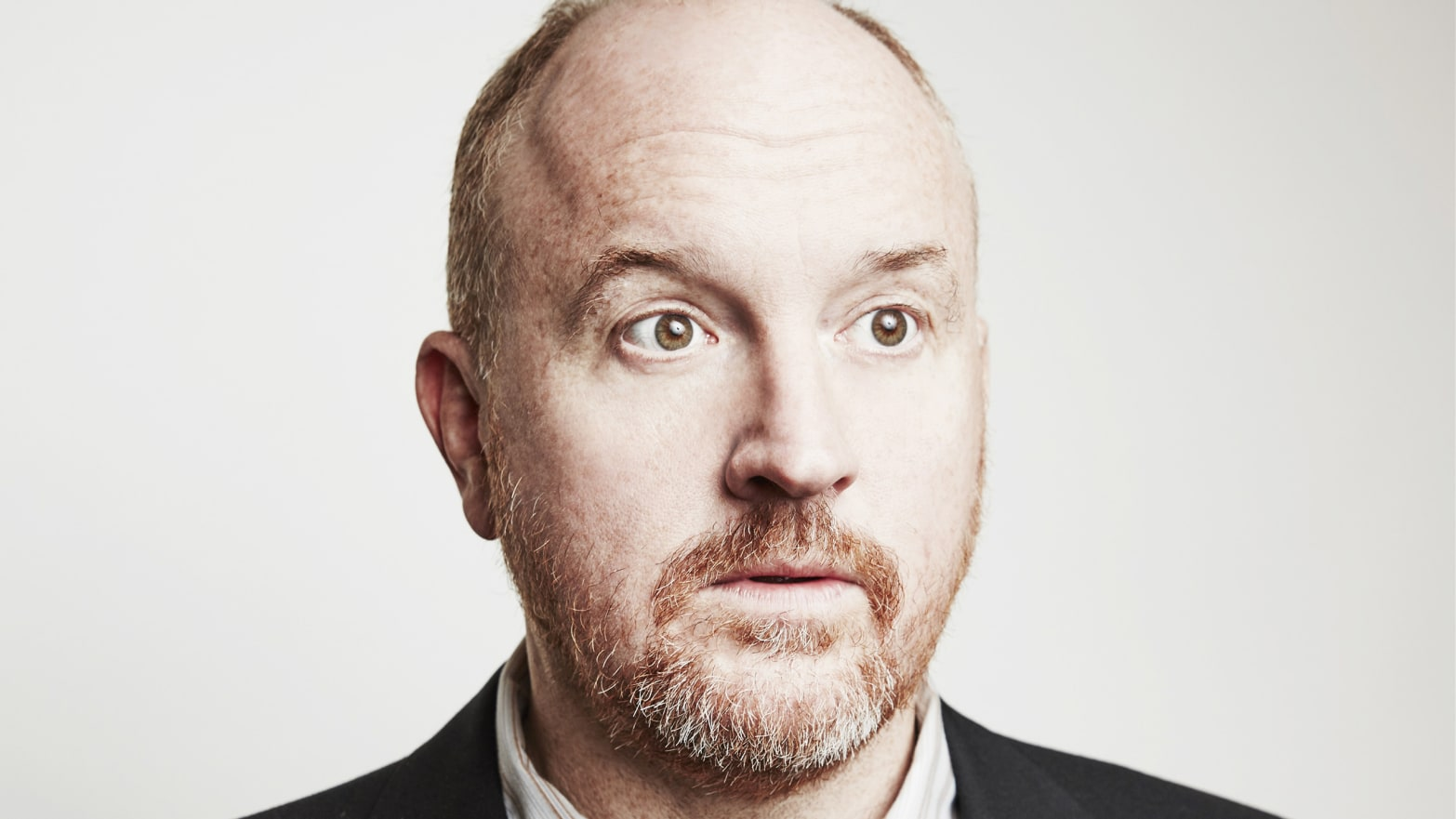 Louis C.K. of FX's 'Baskets' poses in the Getty Images Portrait Studio at the 2016 Winter Television Critics Association press tour at the Langham Hotel on January 19, 2016 in Pasadena, California.