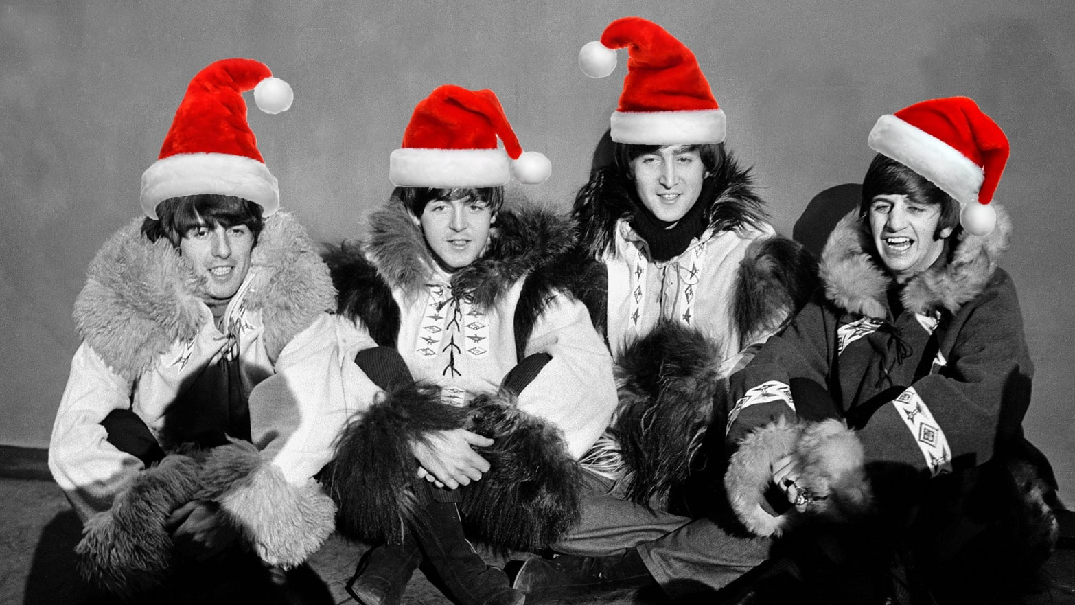 Bloody Christmas 1963.The Beatles Rare Christmas Records Are Finally Revealed