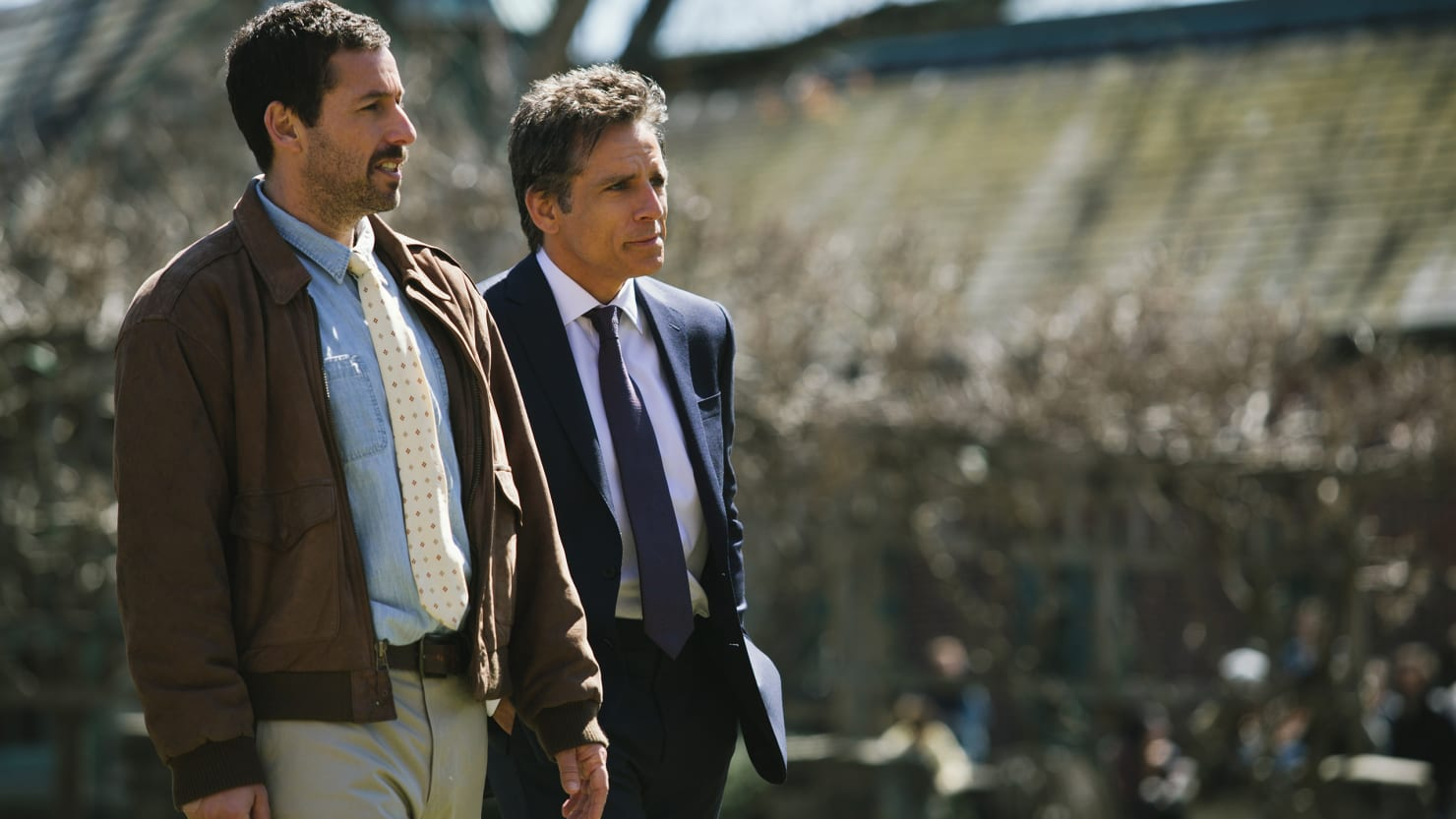 Adam Sandler Is Miraculously Great in 'The Meyerowitz Stories'