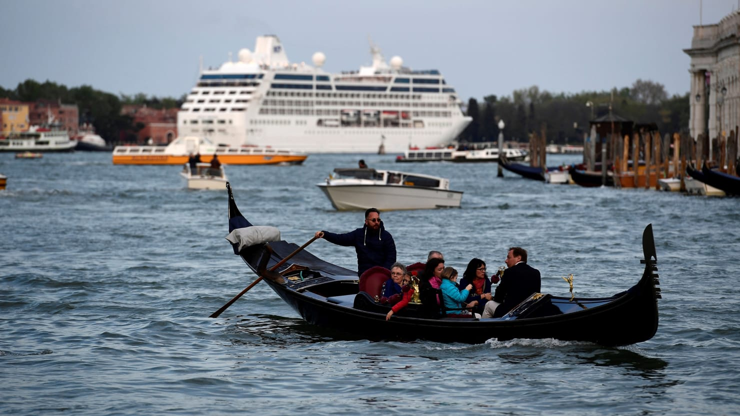 Venice Bans Giant Cruise Ships Sort Of - Waterway cruises