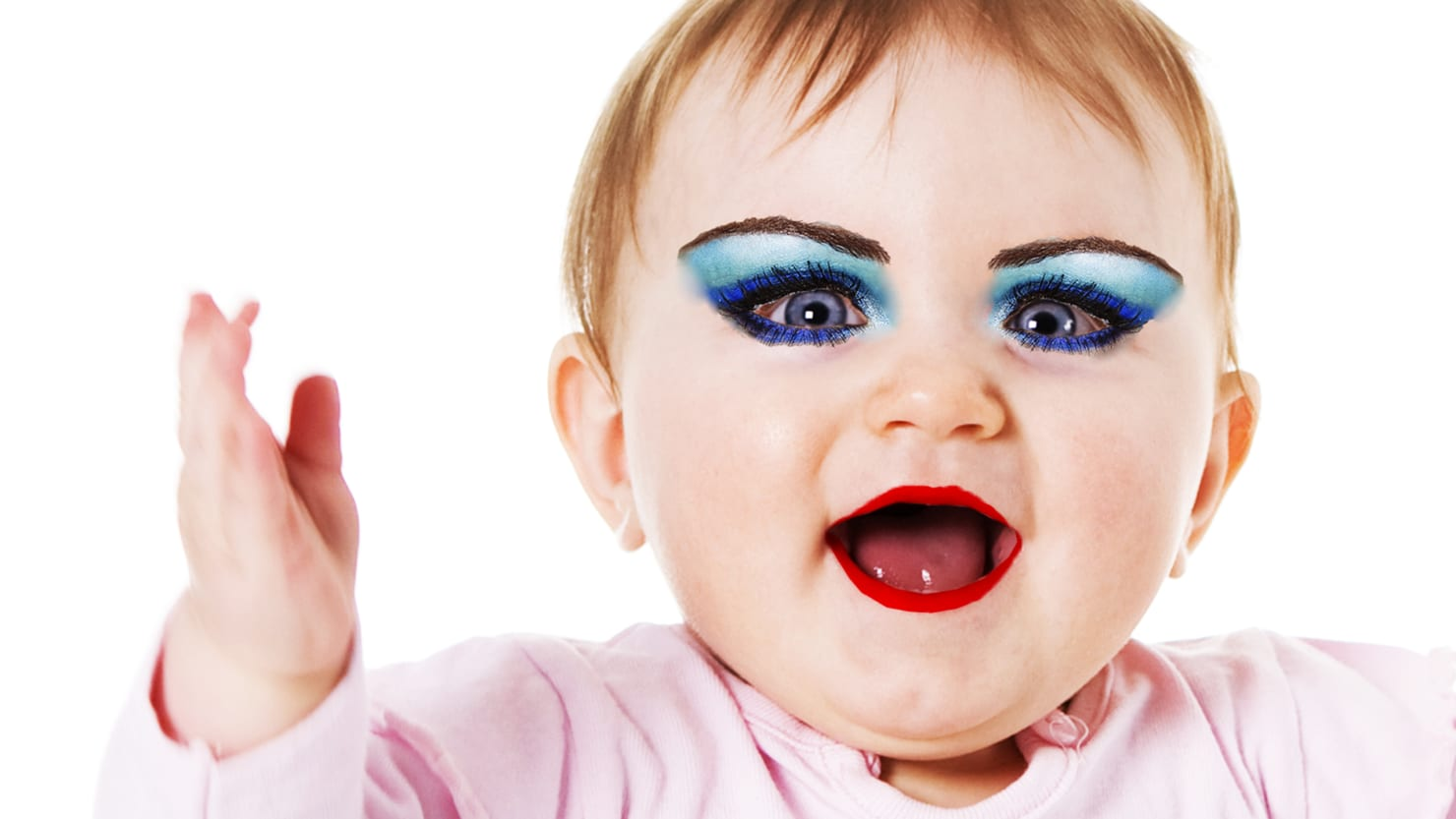 the rich and horrifying world of toddler makeup tutorials