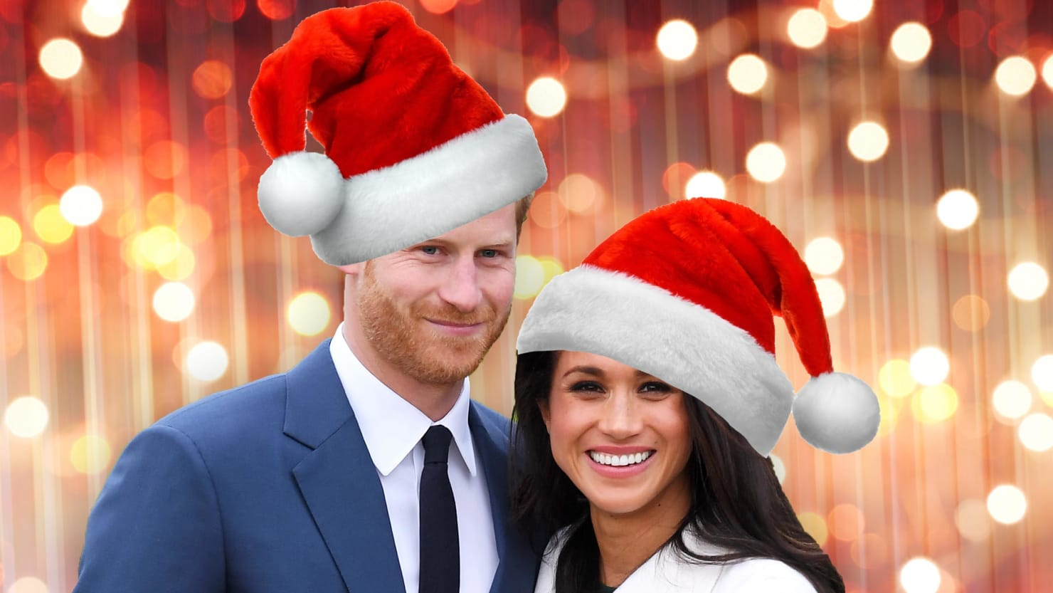 Inside the Royal Family's Very Meghan Christmas