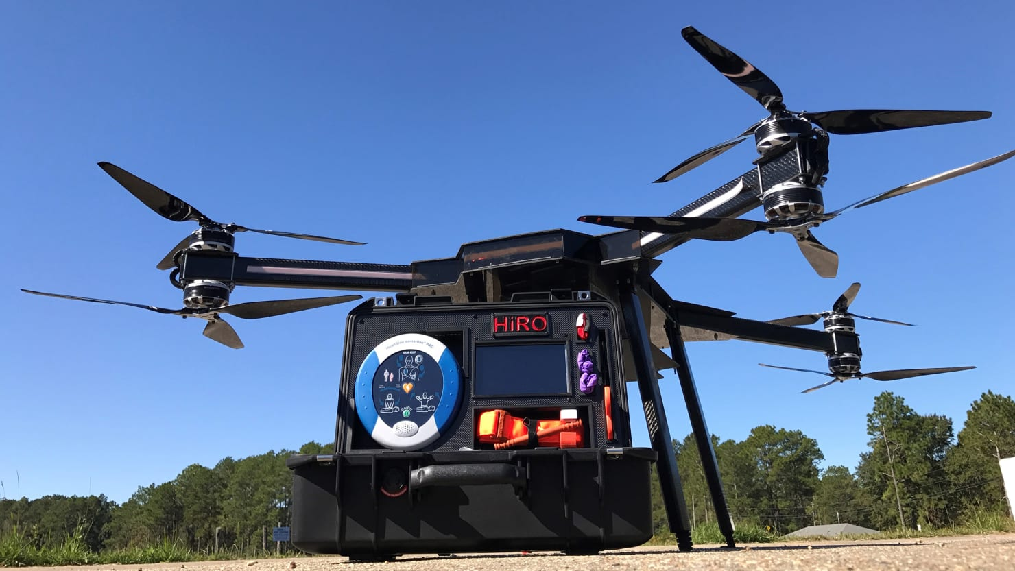 HiRO the Drone Will Change Emergency Medical Treatment