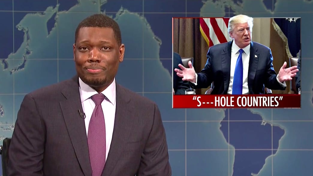 SNL's Michael Che Sounds Off on Trump's 'Sh*thole Countries' Comment