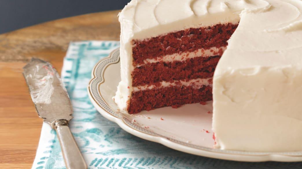 The Real Red Velvet Cake Recipe