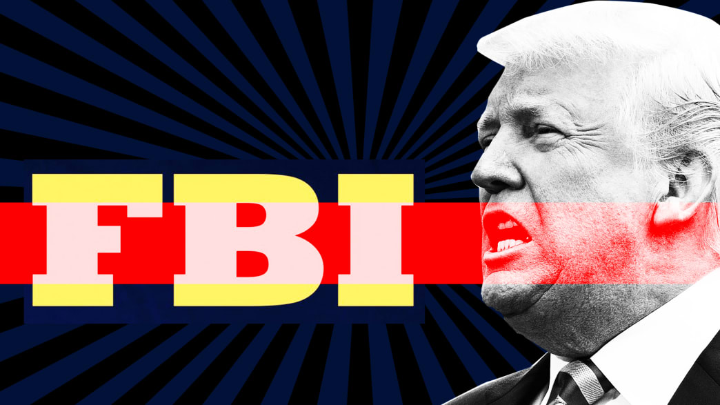 Trump's Latest FBI Attack Stuns Justice Dept. Officials: 'We're in Venezuela'