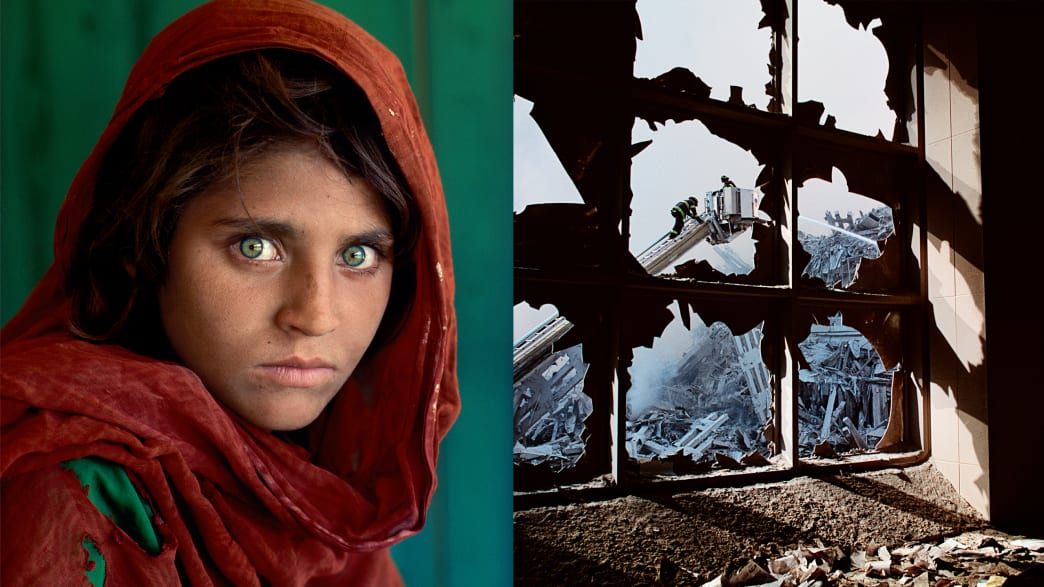From 'Afghan Girl' to Ground Zero, the World Through Steve McCurry's Lens