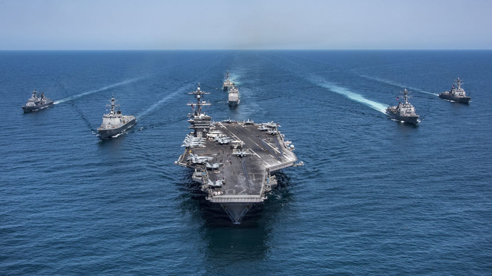 Showdown: U.S. Moving Third Carrier Strike Group Near North Korea