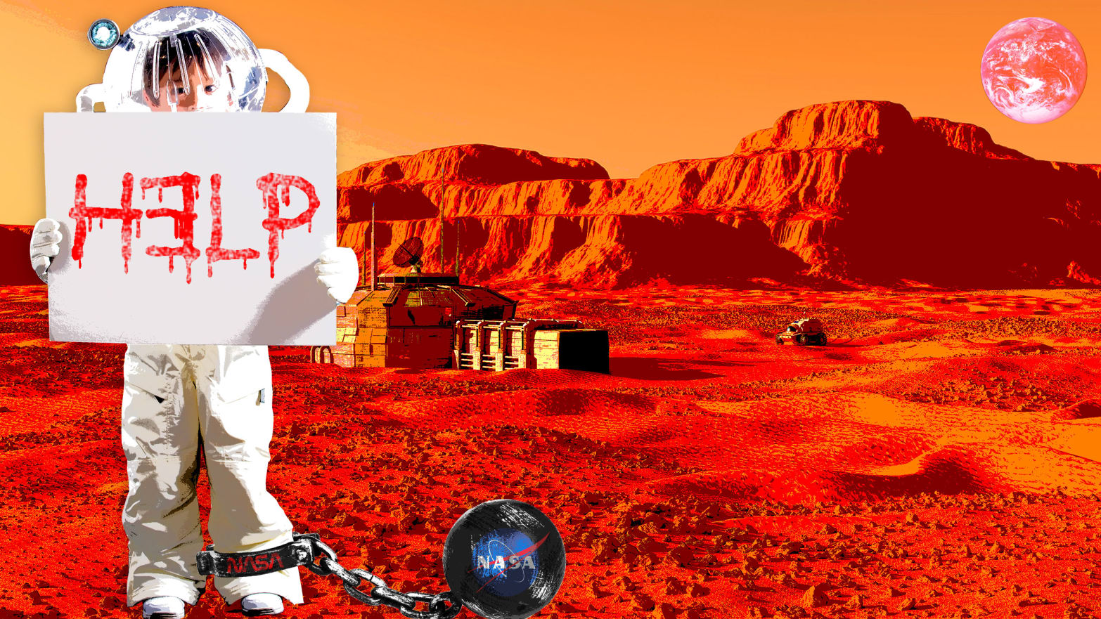 Nudist mars one think